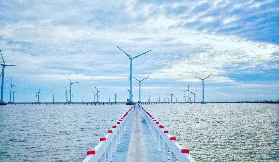 Các nhà máy năng lượng điện gió tại Việt Nam