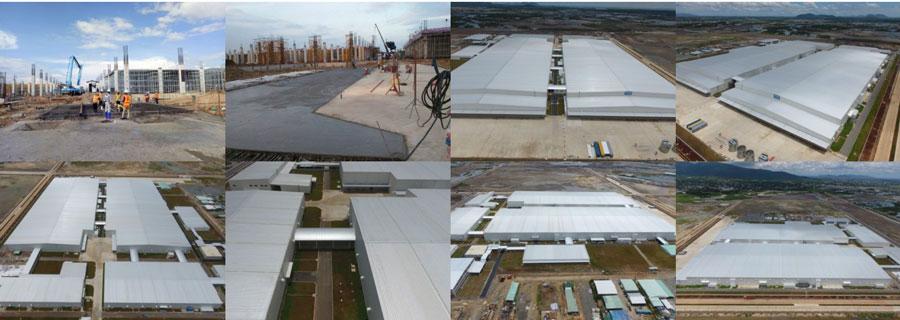Thi công nhà xưởng & hạ tầng nhà máy, khu công nghiệp