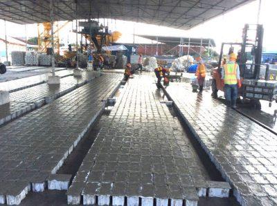 Cung cấp và lắp đặt gạch bê tông tự chèn cường độ cao