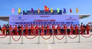 Thông xe đoạn đầu cao tốc dự án đường cao tốc Đà Nẵng - Quảng Ngãi
