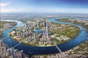 Thủ Thiêm sẽ là khu trung tâm tài chính và khu đô thị phức hợp mới của TP.HCM