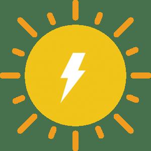 Solar power plant construction