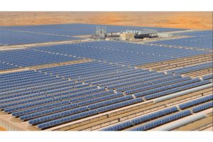 Solar power plant construction