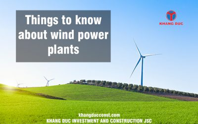 WIND FARM POWER PLANT CONSTRUCTION