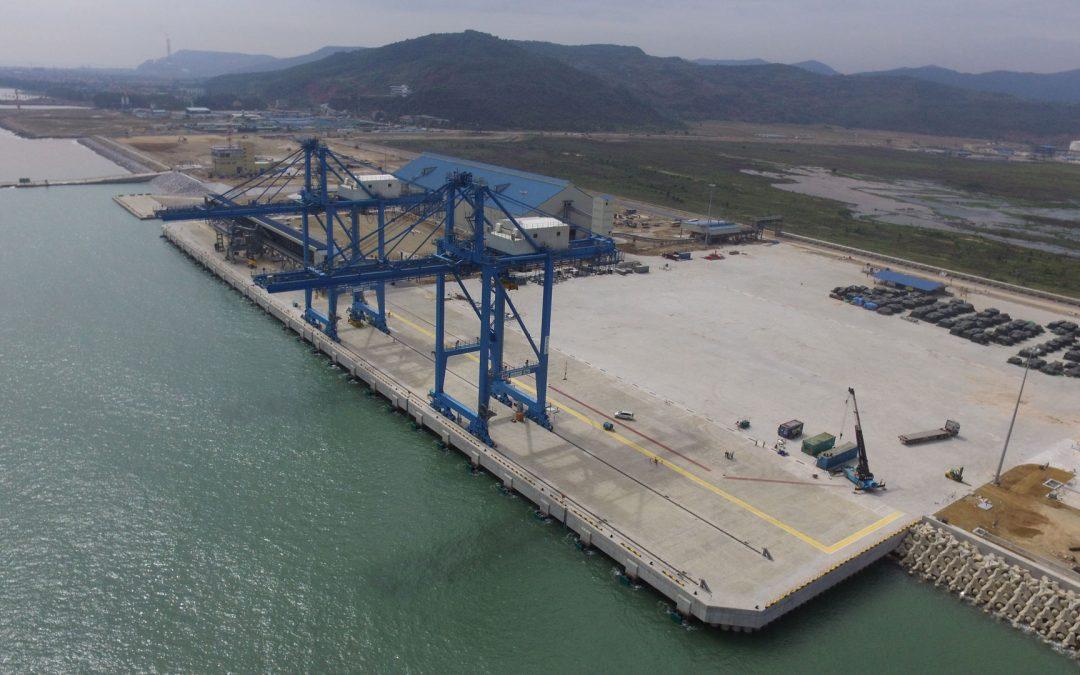 Thi công cảng biển