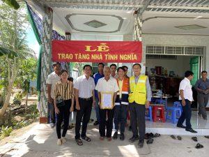 Công ty Khang Đức trao tặng nhà tình nghĩa