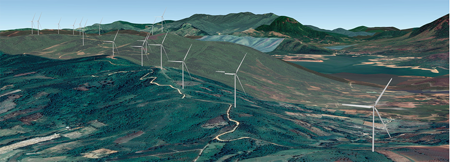 Dự án điện gió Hướng Tân – Hướng Linh