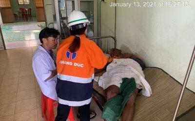 Khang Đức phối hợp cứu ngư dân gặp nạn trên biển